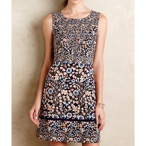 NWOT Anthropologie Maeve Floral Printed Dress Sz 8